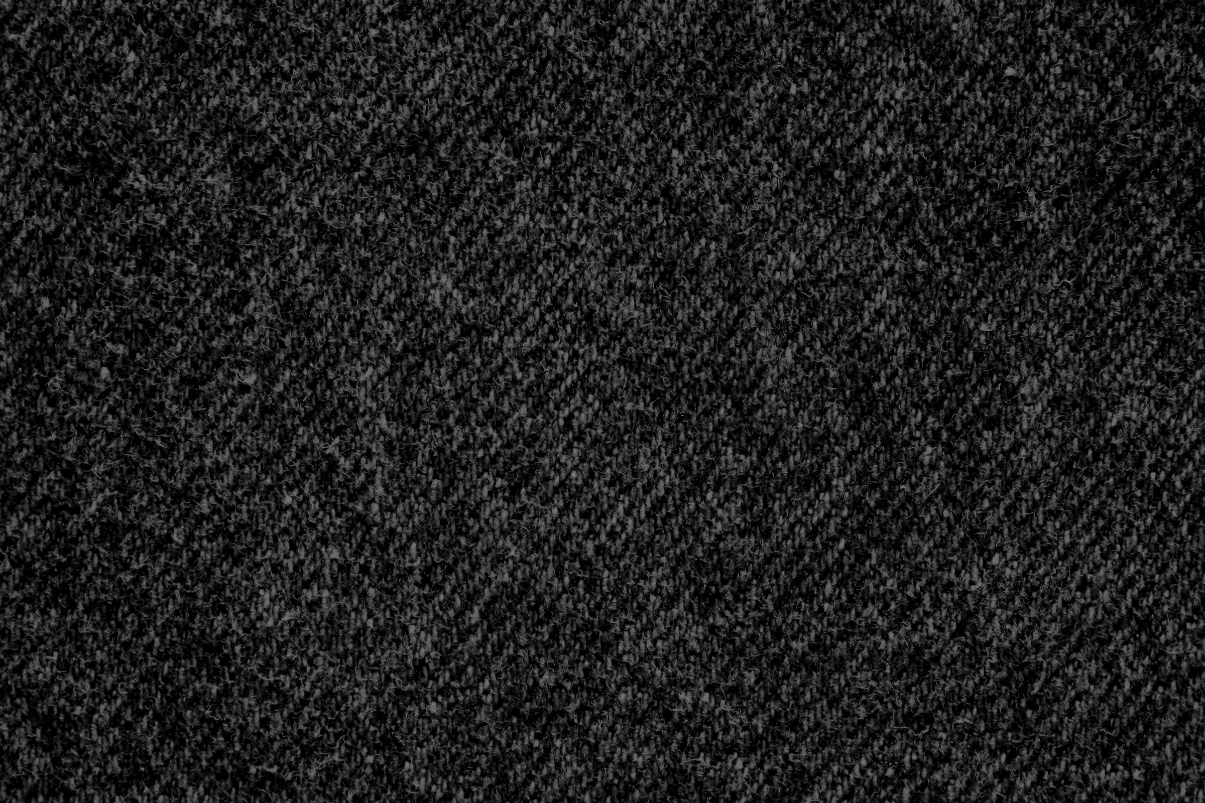 Black Denim Fabric